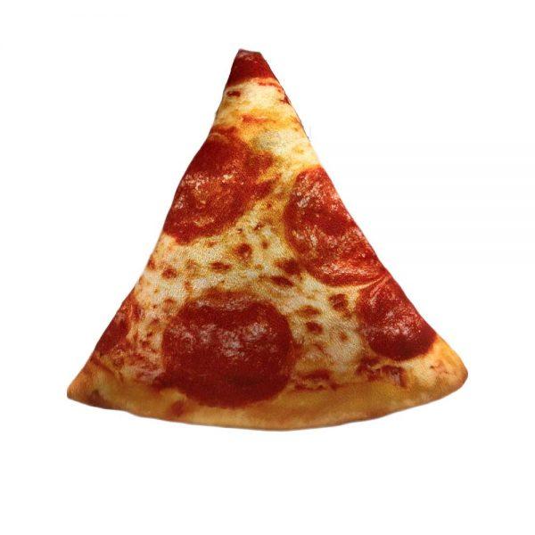 pizza plush cushion
