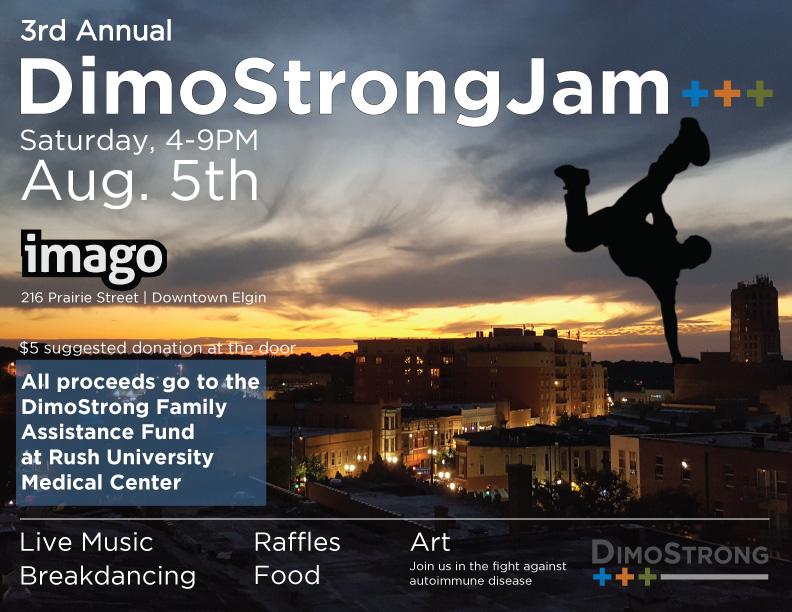 Dimostrong Jam 3 flyer