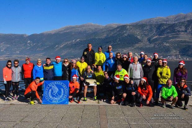 Γιάννενα: Ανήμερα της Πρωτοχρονιάς έγινε η πρώτη προπόνηση του Συλλόγου Δρομέων Ιωαννίνων