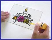 ディンプルアート・カラーの描き方2