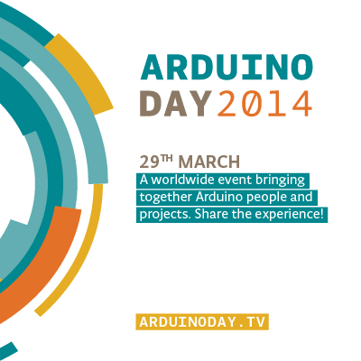 Arduino Day @DSL, 29 March 2014