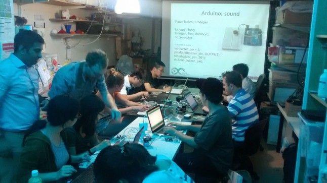 Workshop: Arduino hands-on Introduction