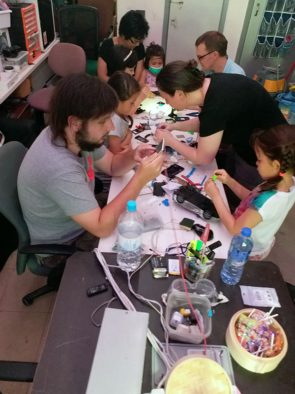 Workshop: Take-apart Day #2 – July 29th 2018