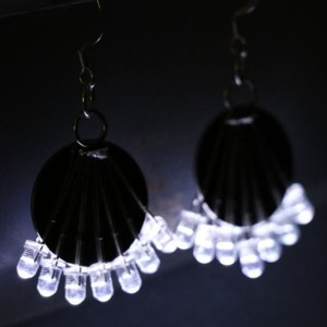 LED Earrings by Dim Sum Labs