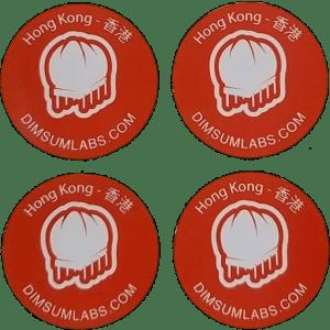 4 stickers