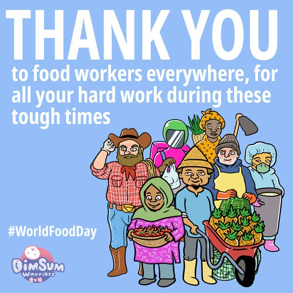Honouring Food Workers on World Food Day 2020