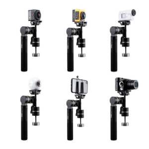 Attaching Cameras on Camera Gimbal
