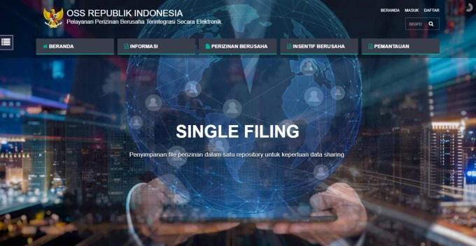 OSS System Screenshot