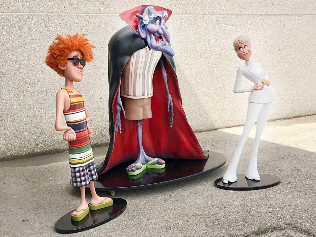 Tres figuras porexpan Transilvania 3