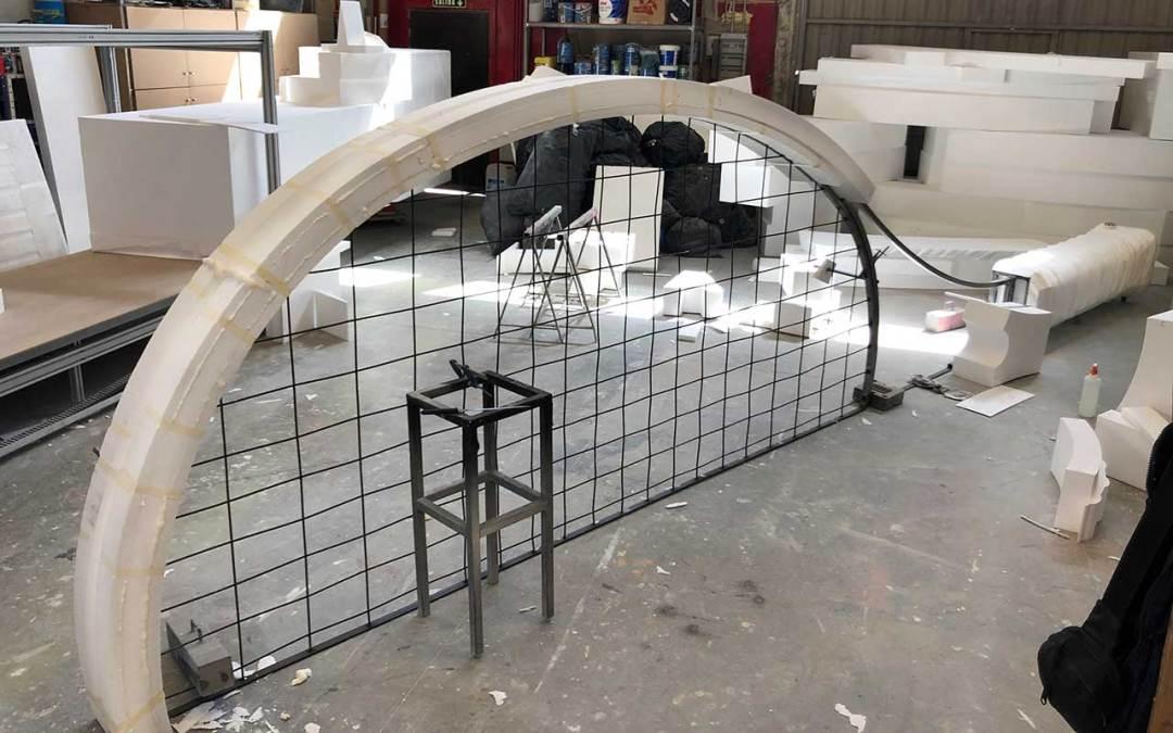 Construcción de raquetas