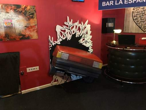 "Escape Room de Estopa ""Fuego"" en Madrid"