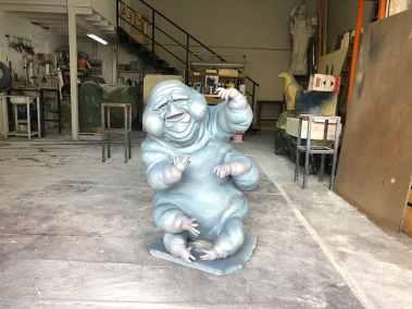 Escultura fantasma pintura