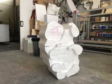 Escultura fantasma