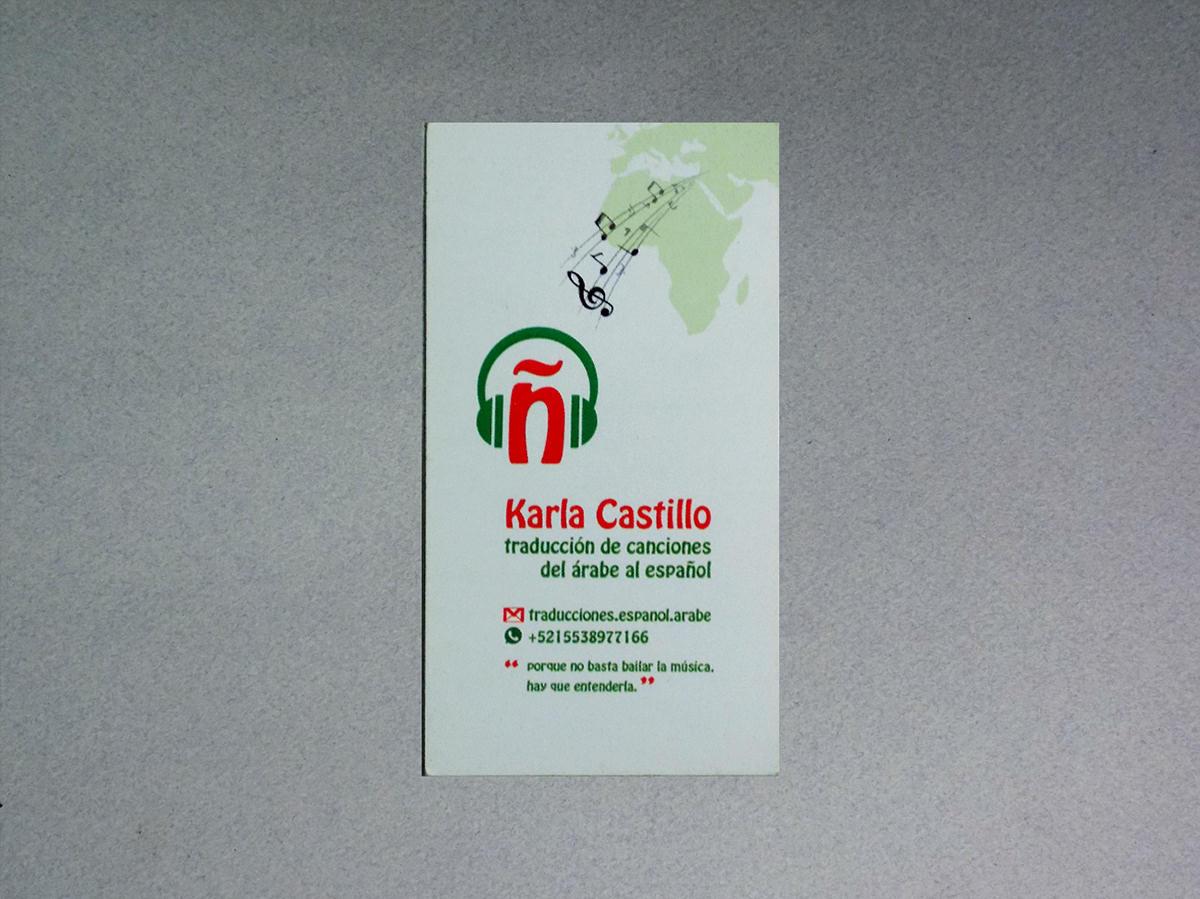 Biglietti da Visita per Tradutrice Interprete Mediatrice