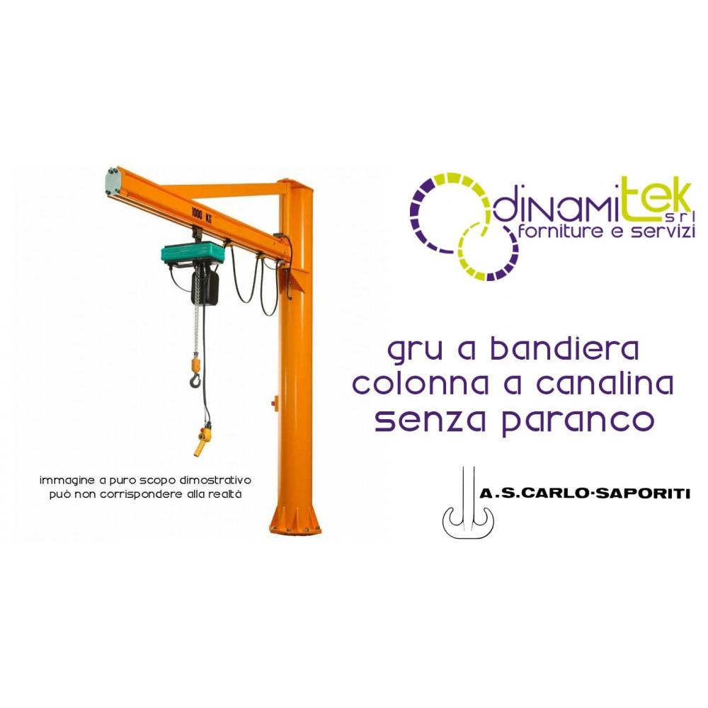 hight resolution of jib crane column in the conduit 3 m high s carlo saporiti dinamitek 1