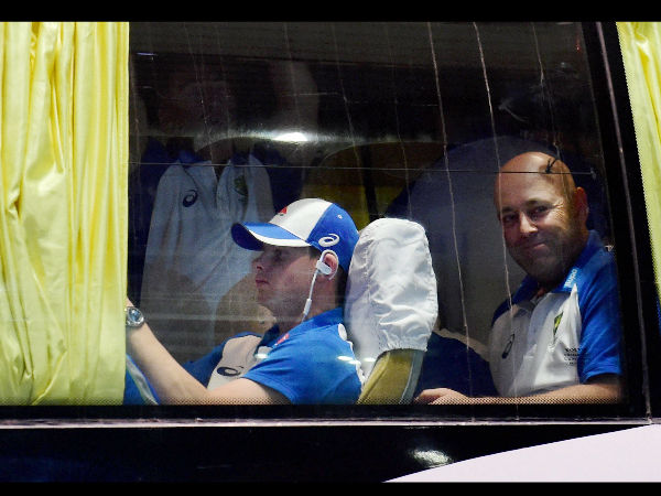 ausralian players bus were attacked
