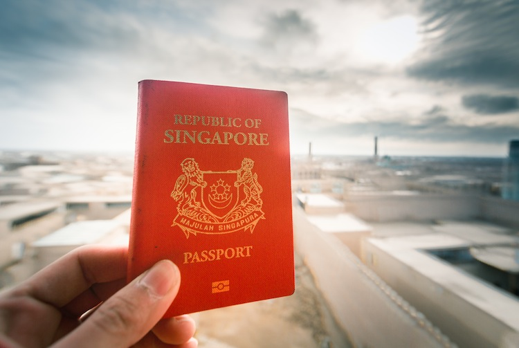 singpore passport