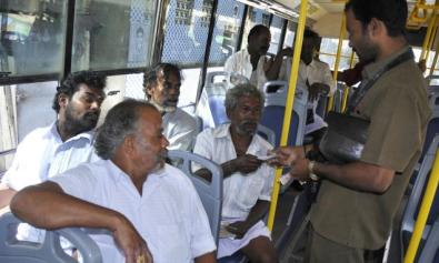 government bus half ticket