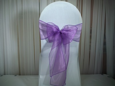 chair covers for rent in trinidad blue chairs puerto vallarta sashes dina s decor linen rentals and wedding invitations barney purple sash tt 3 00