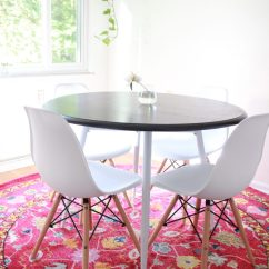 Pink Kitchen Rug Backsplash Panels For Dina S Days I Was Highly Inspired By This And Image On Pinterest Our Is Bright Airy So Initially Wanted Something Neutral Like A Jute But Then