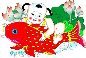 arti gambar ikan - pernak pernik Imlek