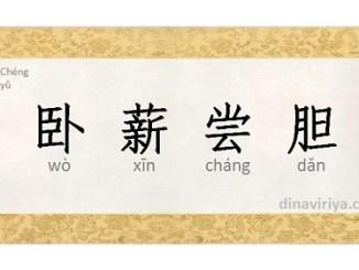 Wo Xin Chang Dan (Idiom Mandarin /Chengyu)