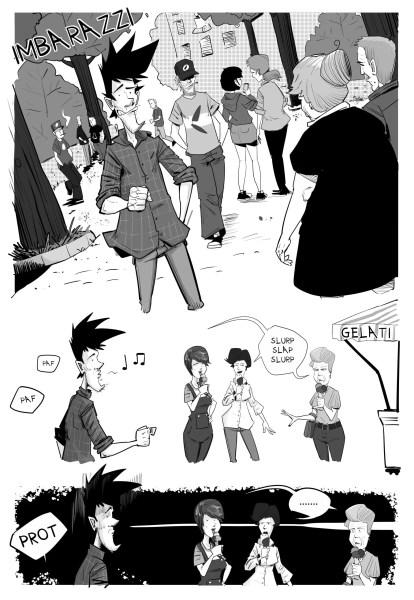imbarazzi dinaz.it blog a fumetti