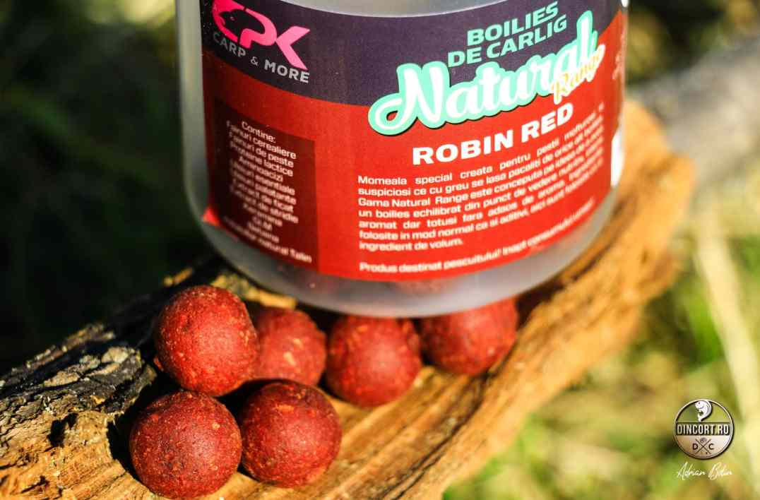 Boiliesurile de 16mm Robin Red din gama Natural pot fi solutia?