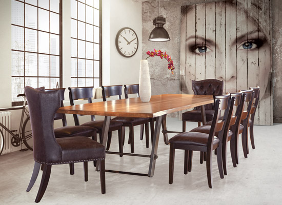 small living room table and chairs how to divide solid wood furniture dining bedroom