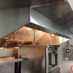 Commercial Kitchen Exhaust System Design Island Pendant Lighting Hoods Restaurant Systems Custom