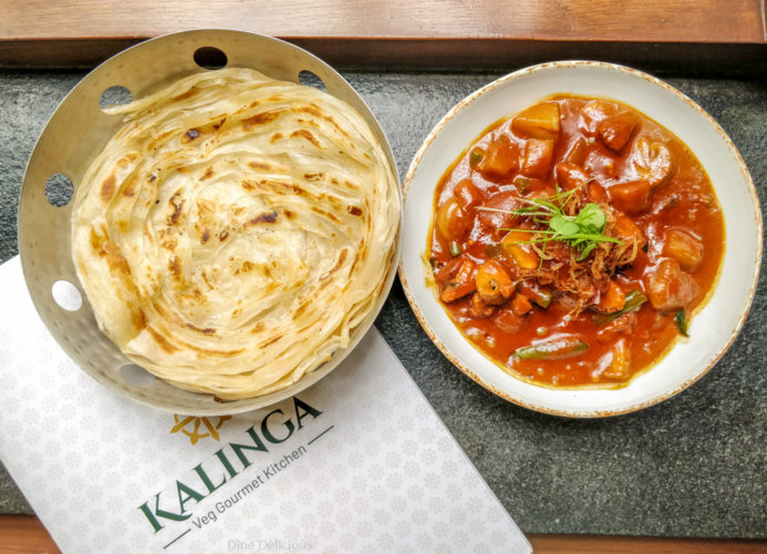 Malaysian Curry with Parotta