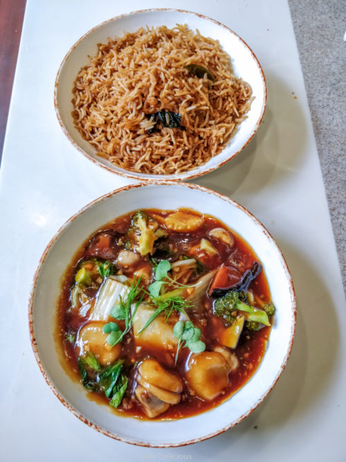Teriyaki Exotica with Fragrant Rice