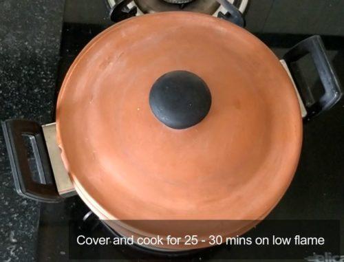 Biryani in Clay Pot