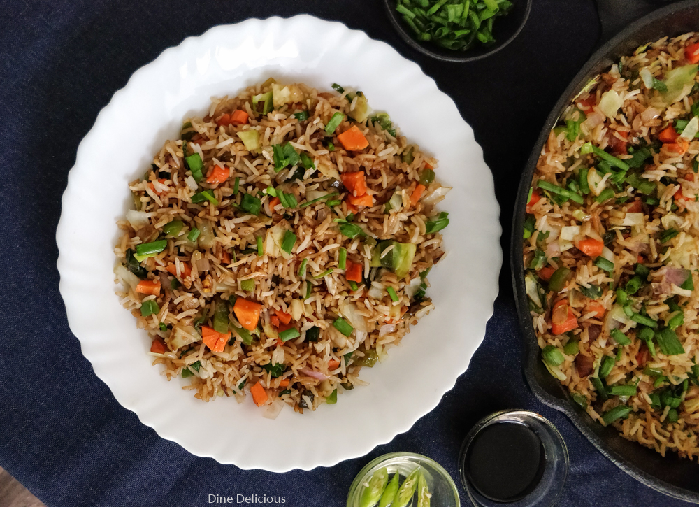 Chinese Veg Fried Rice Recipe