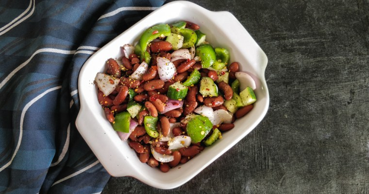 Kidney Bean Salad Recipe, Healthy Salad Recipe for Weight Loss