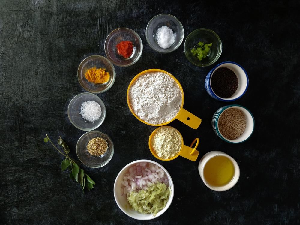 Doodhi Muthia Ingredients