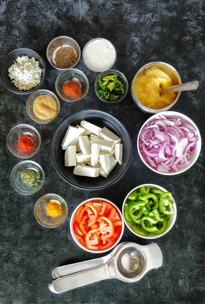 Paneer Ingredients