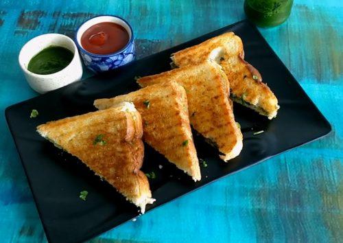 Spicy Aloo Sandwich Recipe