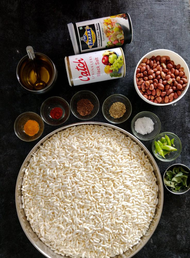 Murmura Chivda Ingredients