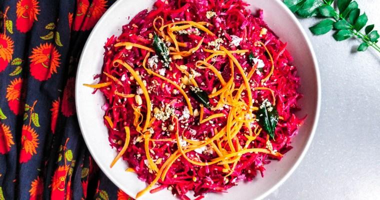 Beetroot & Carrot Salad