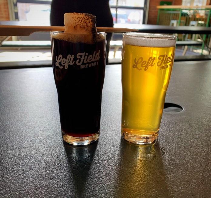 Left Field beers