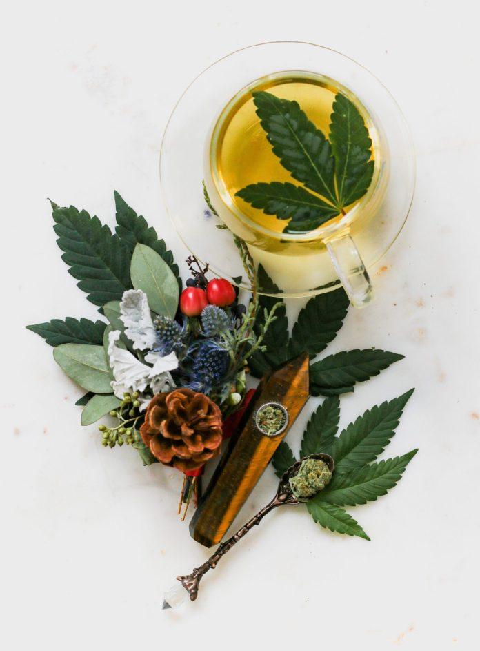 Cannabis infused tea