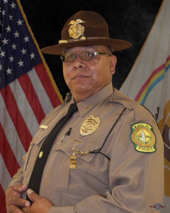 The late Navajo Nation police officer Michael Lee. Courtesy photo.