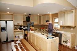 Fabrication et pose de cuisine