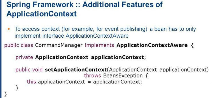 Using ApplicationContextAware in Spring