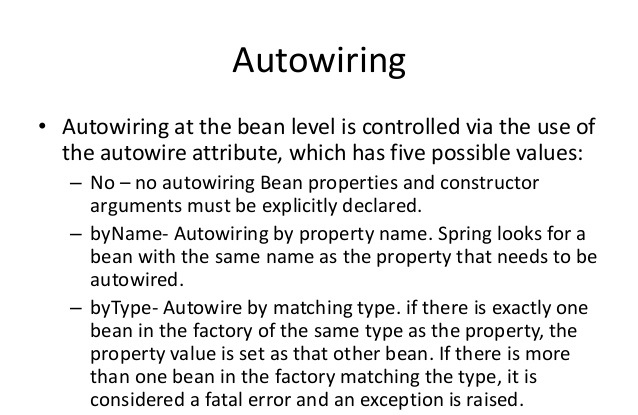 bean autowiring in spring application dinesh on java rh dineshonjava com spring autowiring interview questions default autowiring in spring