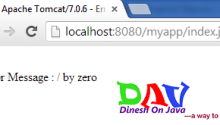 JSP Tutorial a Baby Step to Server Pages - Dinesh on Java