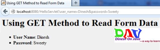 Servlets - Form Data & Basics of Web - Dinesh on Java