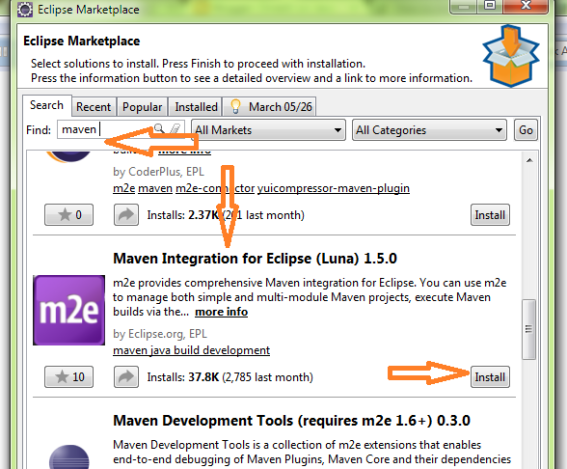 How to configure maven in eclipse - Dinesh on Java