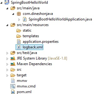 Logging Configuration in Spring Boot - Dinesh on Java